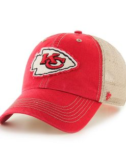 Kansas City Chiefs Montana Red 47 Brand Adjustable Hat