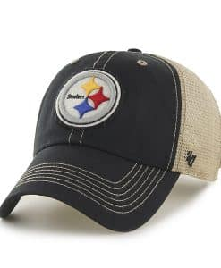 Pittsburgh Steelers Montana Black 47 Brand Adjustable Hat