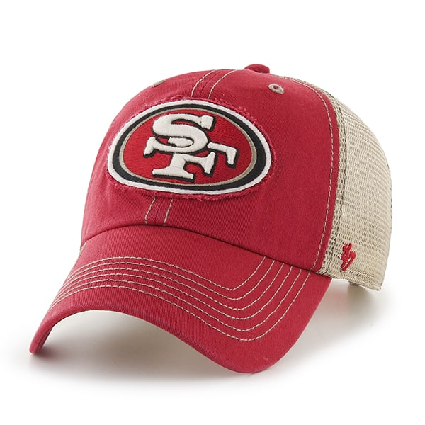 San Francisco 49ers Montana Red 47 Brand Adjustable Hat