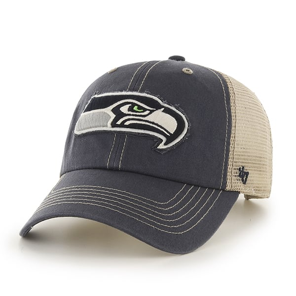 Seattle Seahawks Montana Navy 47 Brand Adjustable Hat