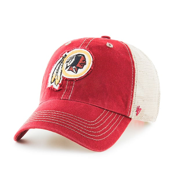 cheap for discount 27d16 26ad0 Washington Redskins Montana Razor Red 47 Brand Adjustable Hat - Detroit  Game Gear