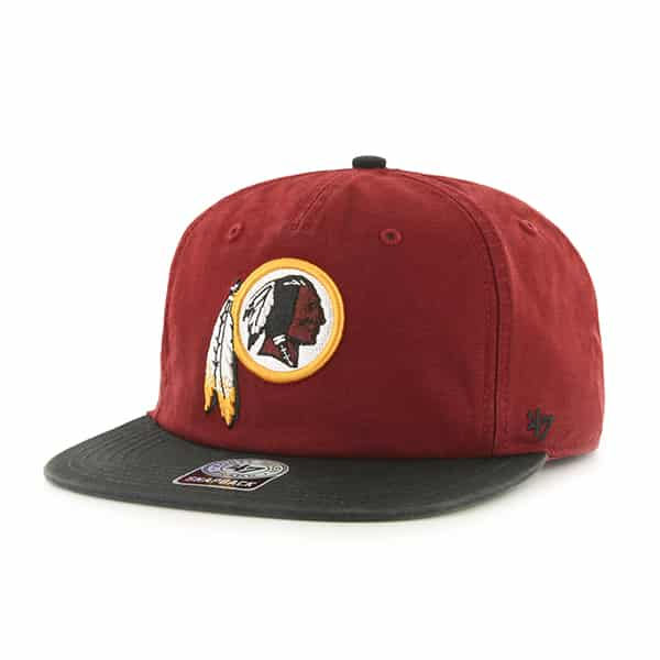 Washington Redskins Marvin Captain Rf Razor Red 47 Brand Adjustable Hat
