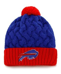 Buffalo Bills Matterhorn Knit Sonic Blue 47 Brand Womens Hat