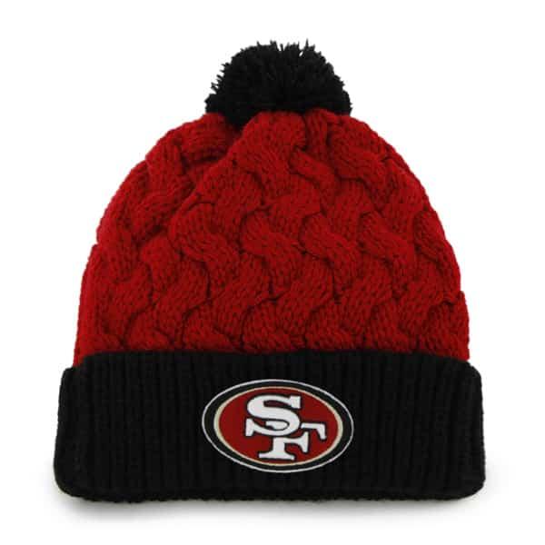 San Francisco 49ers Matterhorn Knit Red 47 Brand Womens Hat