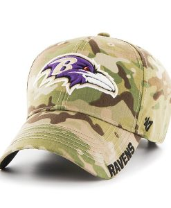 Baltimore Ravens Myers MVP Multicam 47 Brand Adjustable Hat