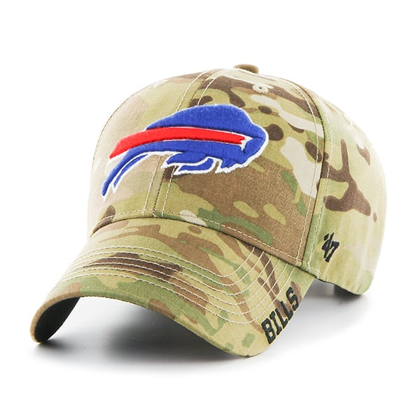 Buffalo Bills Myers MVP Multicam 47 Brand Adjustable Hat