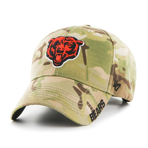 Chicago Bears Myers MVP Multicam 47 Brand Adjustable Hat