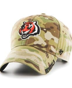 Cincinnati Bengals Myers MVP Multicam 47 Brand Adjustable Hat