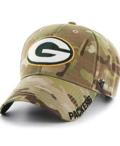 Green Bay Packers Myers MVP Multicam 47 Brand Adjustable Hat