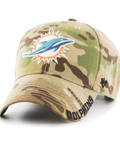 Miami Dolphins Myers MVP Multicam 47 Brand Adjustable Hat