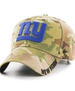 New York Giants Myers MVP Multicam 47 Brand Adjustable Hat