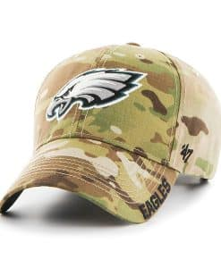 Philadelphia Eagles Myers MVP Multicam 47 Brand Adjustable Hat