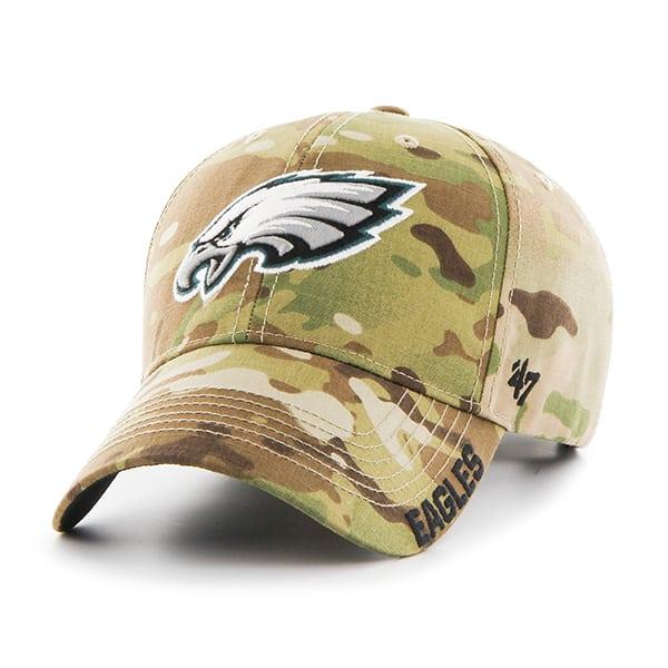 big sale c12a7 68651 Philadelphia Eagles Myers MVP Multicam 47 Brand Adjustable Hat - Detroit  Game Gear
