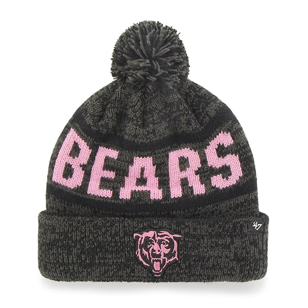 Chicago Bears Northmont Cuff Knit Charcoal 47 Brand Womens Hat