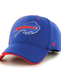 Buffalo Bills Neutral Zone MVP Sonic Blue 47 Brand Adjustable Hat