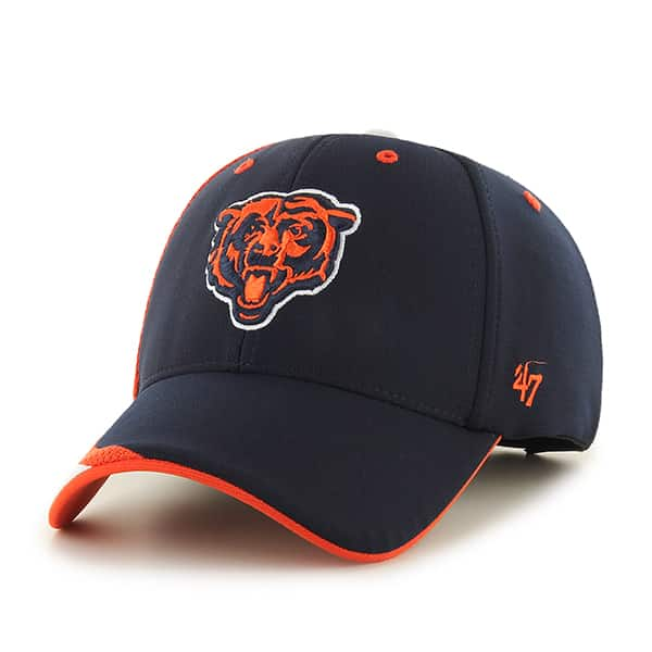 Chicago Bears Neutral Zone MVP Navy 47 Brand Adjustable Hat