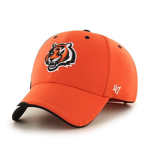 Cincinnati Bengals Neutral Zone MVP Orange 47 Brand Adjustable Hat