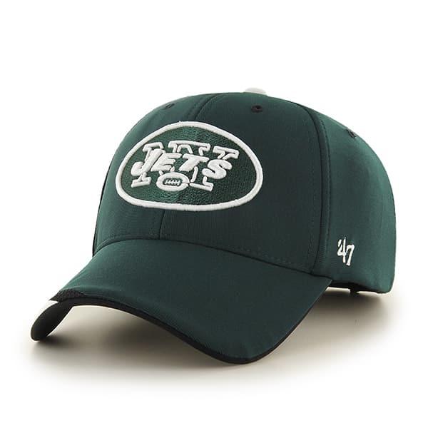 New York Jets Neutral Zone MVP Dark Green 47 Brand Adjustable Hat