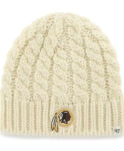 Washington Redskins Newbury Beanie Natural 47 Brand Womens Hat