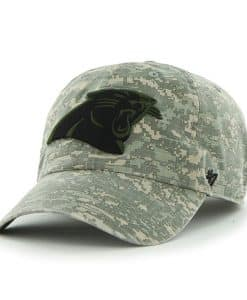 Carolina Panthers Officer Digital Camo 47 Brand Adjustable Hat