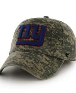 New York Giants Officer Digital Camo 47 Brand Adjustable Hat