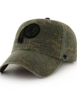 ce01ec3b4 Washington Redskins Officer Digital Camo 47 Brand Adjustable Hat