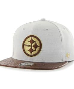 Pittsburgh Steelers Orinoco Captain Gray 47 Brand Adjustable Hat