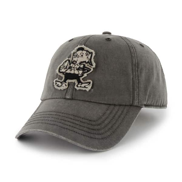 Cleveland Browns Palmetto Charcoal 47 Brand Adjustable Hat
