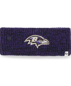 Baltimore Ravens Prima Headband Black 47 Brand Womens