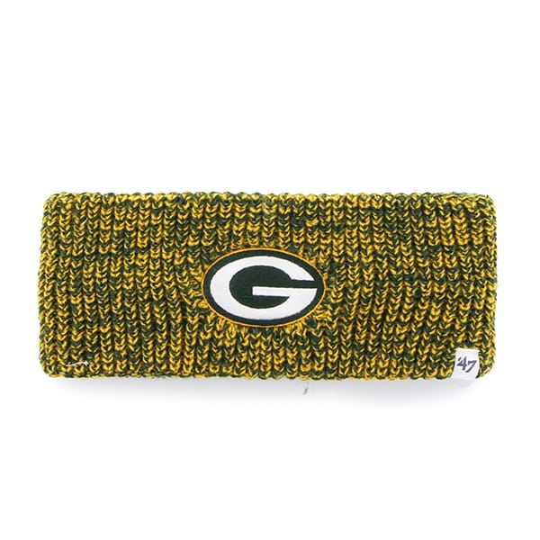 Green Bay Packers Prima Headband Dark Green 47 Brand Womens
