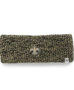 New Orleans Saints Prima Headband Black 47 Brand Womens