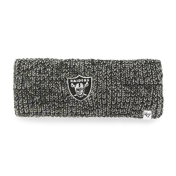 Oakland Raiders Prima Headband Black 47 Brand Womens