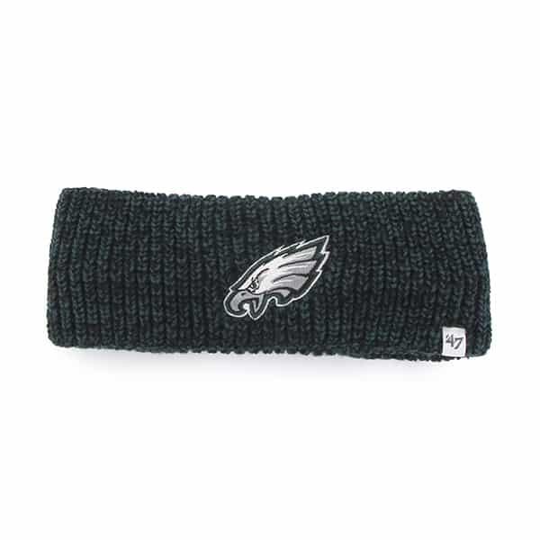 Philadelphia Eagles Prima Headband Black 47 Brand Womens