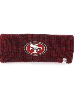 San Francisco 49ers Prima Headband Red 47 Brand Womens