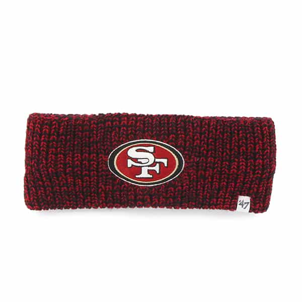 San Francisco 49ers Prima Headband Red 47 Brand Womens