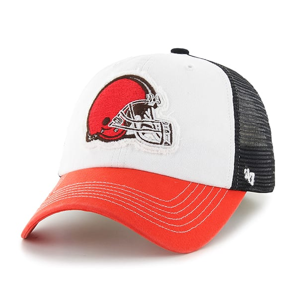 Cleveland Browns Privateer Closer Black 47 Brand Stretch Fit Hat