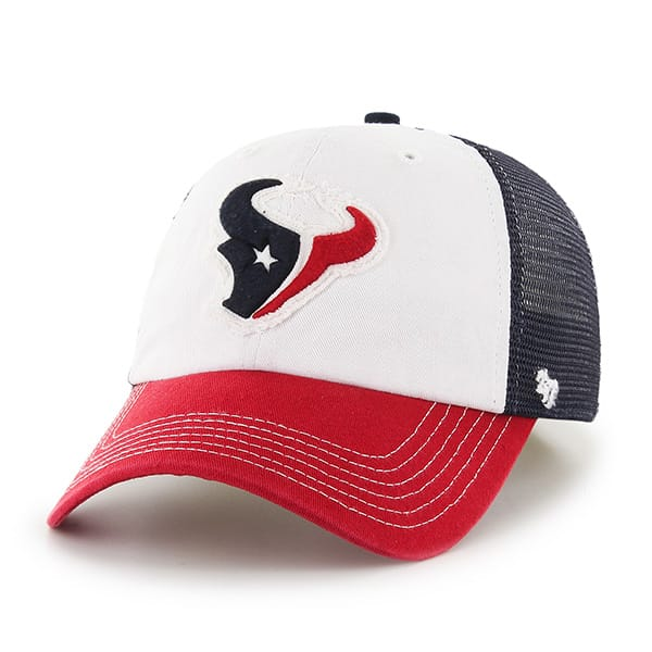 Houston Texans Privateer Closer Navy 47 Brand Stretch Fit Hat