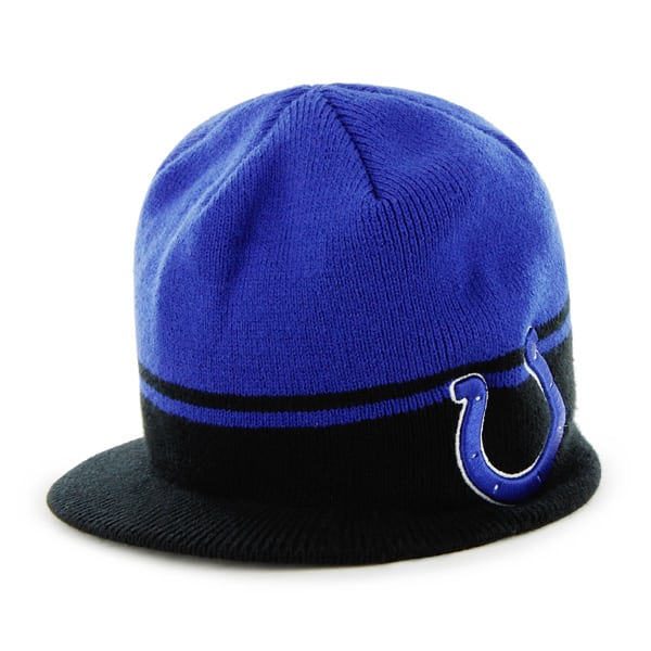 Indianapolis Colts Powerback Royal 47 Brand Adjustable Hat