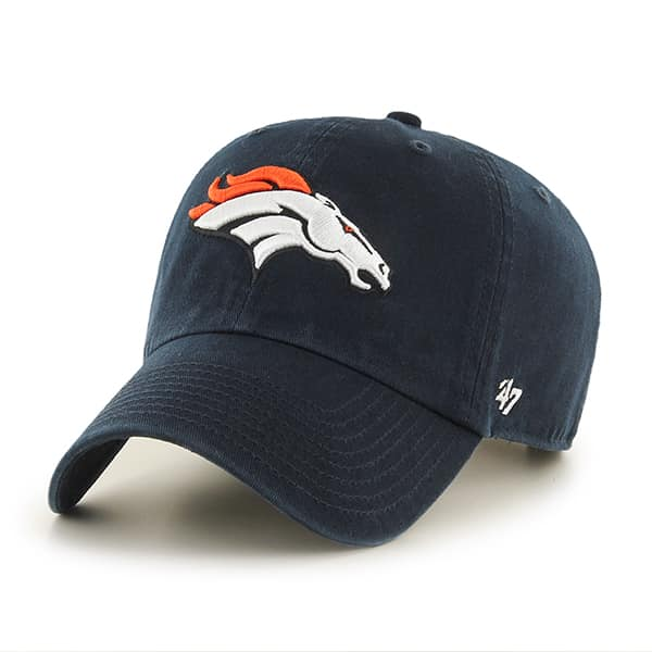 Denver Broncos Rebound Clean Up Navy 47 Brand Adjustable Hat
