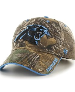 Carolina Panthers Realtree Frost Realtree 47 Brand Adjustable Hat