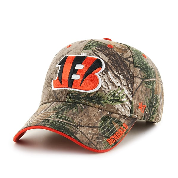 Cincinnati Bengals Realtree Frost Realtree 47 Brand Adjustable Hat