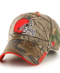Cleveland Browns Realtree Frost Realtree 47 Brand Adjustable Hat