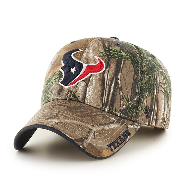 Houston Texans Realtree Frost Realtree 47 Brand Adjustable Hat