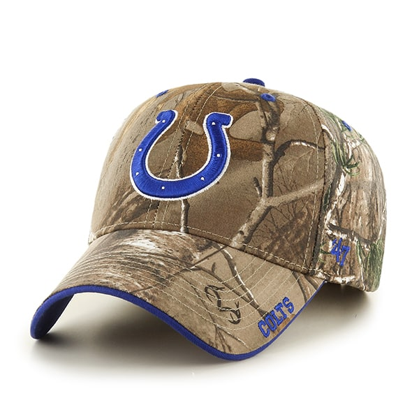 Indianapolis Colts Realtree Frost Realtree 47 Brand Adjustable Hat