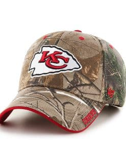 Kansas City Chiefs Realtree Frost Realtree 47 Brand Adjustable Hat