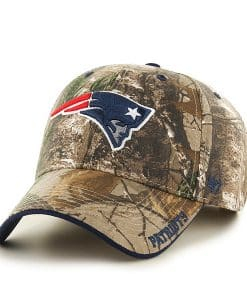 New England Patriots Realtree Frost Realtree 47 Brand Adjustable Hat