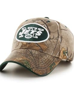 New York Jets Realtree Frost Realtree 47 Brand Adjustable Hat