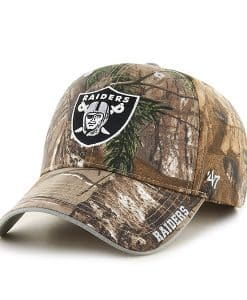 Oakland Raiders Realtree Frost Realtree 47 Brand Adjustable Hat
