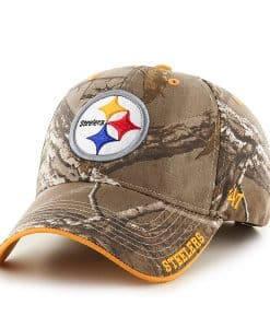 Pittsburgh Steelers Realtree Frost Realtree 47 Brand Adjustable Hat