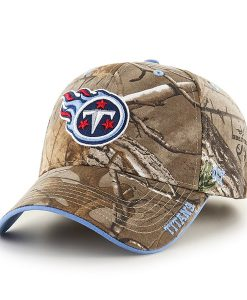 Tennessee Titans Realtree Frost Realtree 47 Brand Adjustable Hat